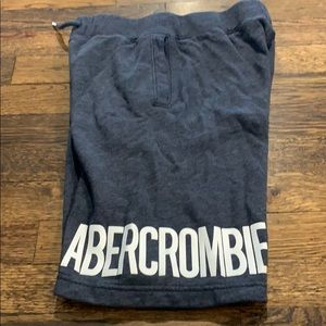 Abercrombie kids sweat shorts in size 11/12